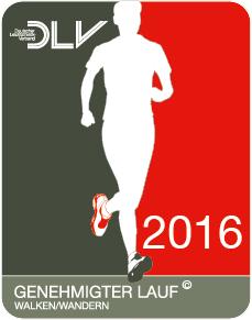 genehmigter Lauf 2016
