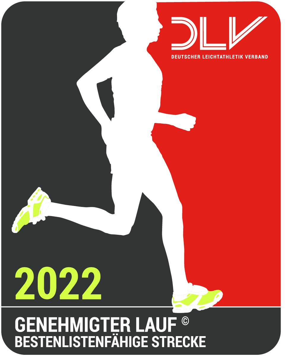 genehmigter Lauf 2022